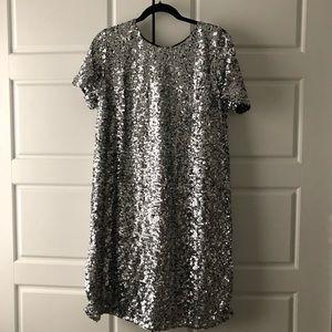 GAP Short sleeve Sequins dress